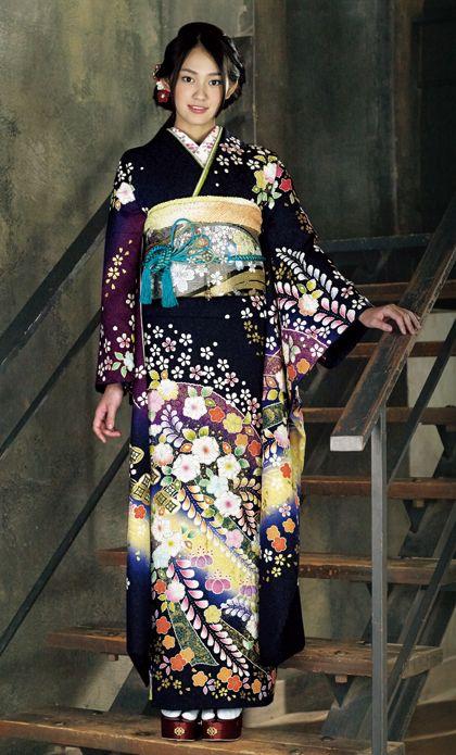 Furisode by Suzunoya.  Japan