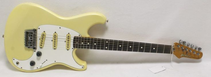 1983 Ibanez Roadstar II Electric Guitar Cream Metalflake Pearl Color Road Stare #Ibanez