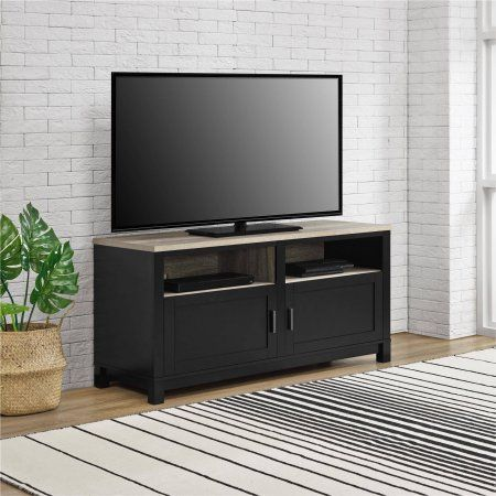 Better Homes and Gardens Langley Bay TV Stand for TVs up to 60 inch Wide, Black