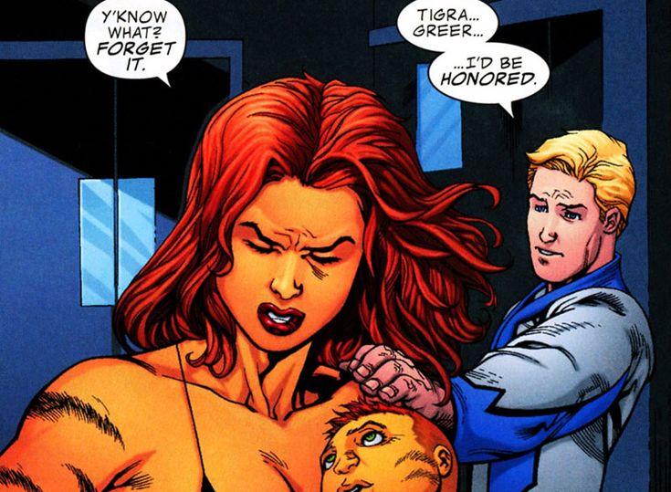 Marvel Tigra Son Tigra and her s...