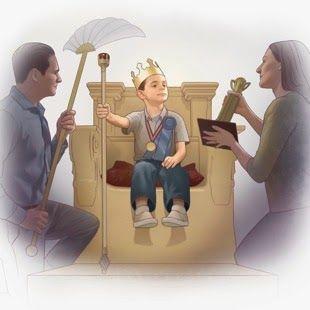 Свет истины: Родительский авторитет Вместо того , чтобы советовать родителям искать золотую середину между похвалой и наказанием, специалисты убеждали их, что порицание может ранить хрупкую психику ребенка, вызывая у него долго не проходящую обиду.