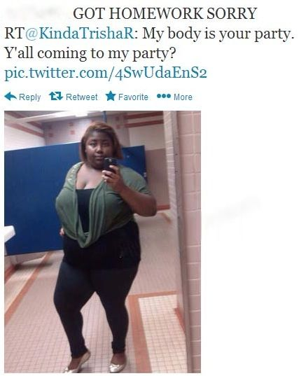 My Body is Your Party - Ya'll Coming to my Party? - No Way Girl - Selfie Fail ---- hilarious jokes funny pictures walmart fails meme humor