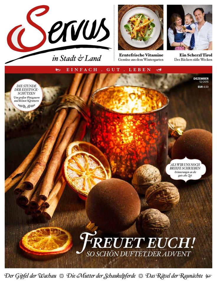 Servus in Stadt & Land 12/2015 by Red Bull Media House - issuu