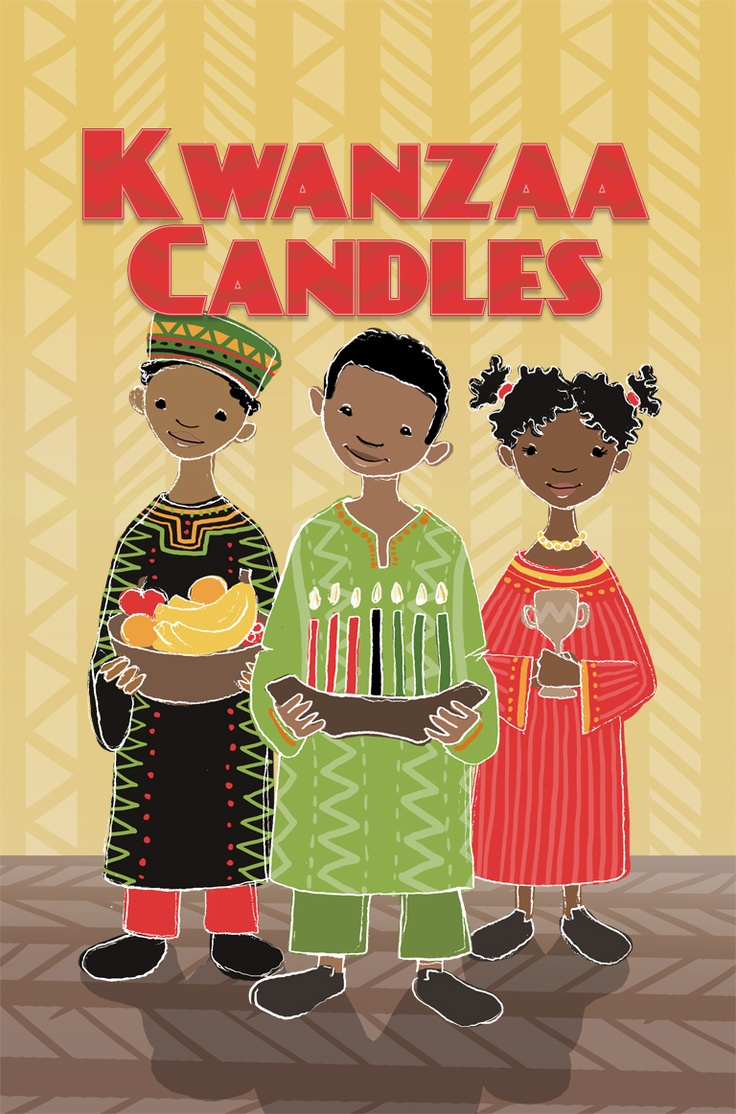 Happy Kwanzaa! Teach your children about what the holiday celebrates with Kwanzaa Candles!
