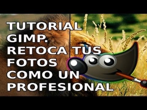 ▶ Tutorial GIMP. Da un aspecto profesional a tus fotos - YouTube