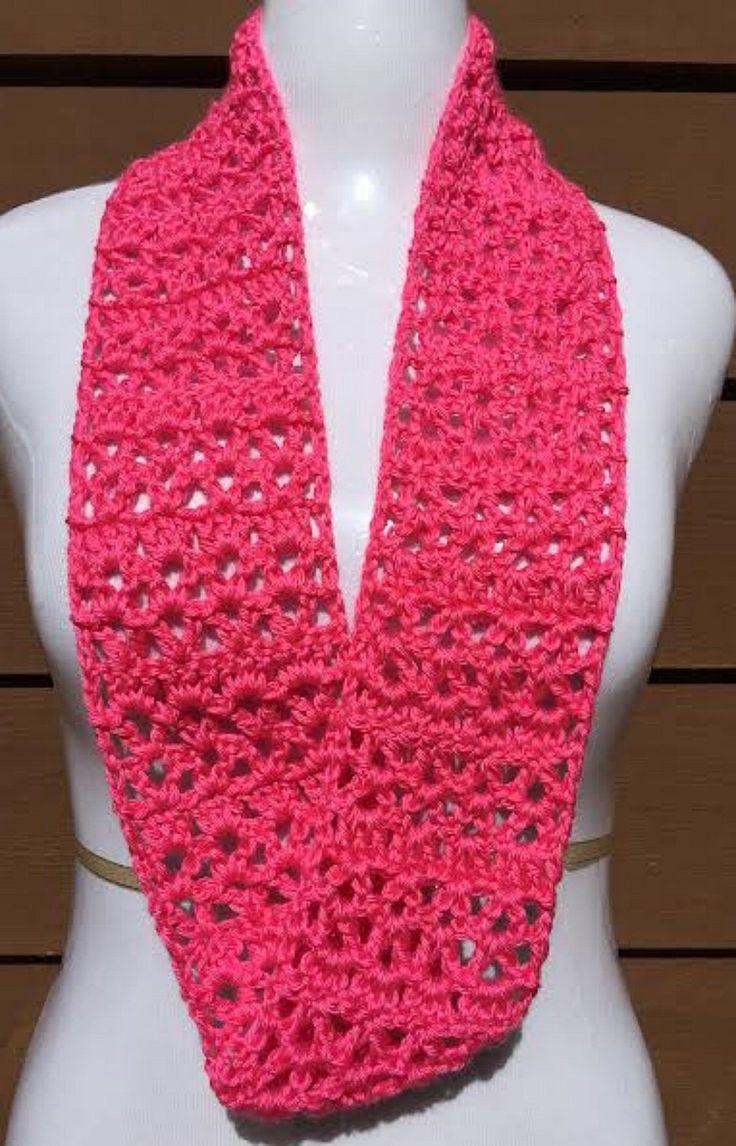 39 best Crochet Summer Scarves images on Pinterest   Scarf ...