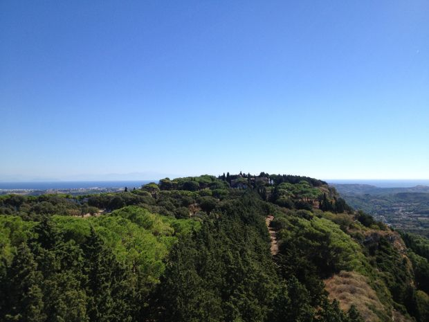 View from Filerimos Cross, Rhodes