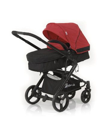 Hauck Colt All in One Pram and Pushchair Travel System - Caviar and Tango - prams & pushchairs - Mothercare