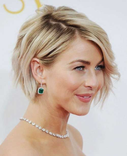 Short Female Hairstyles layered bob hairstyles for 2017 httptrend hairstylesru Short Hairstyle Short Haircut Golden Blonde Hair Color