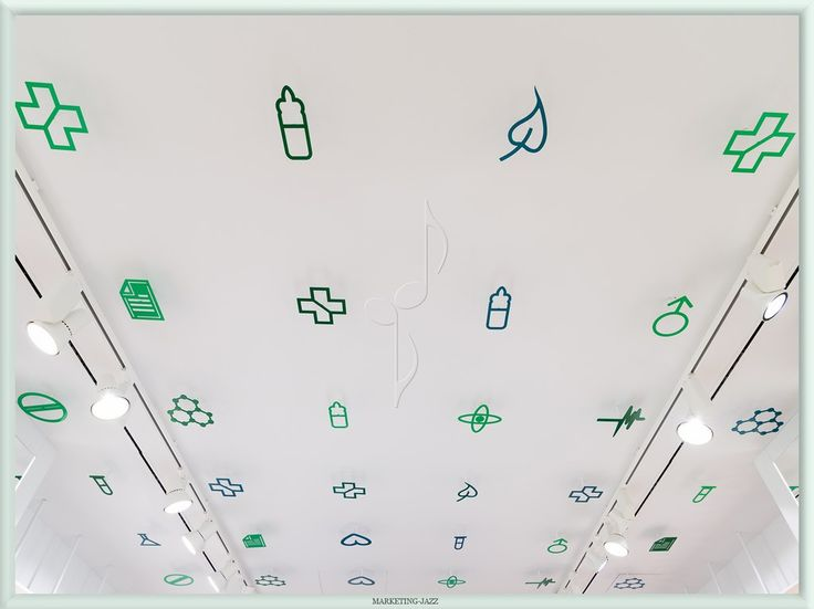 Diseño techo Farmacia Magistral, Murcia