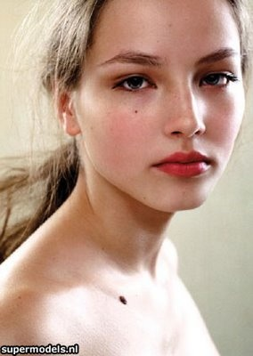 Ruslana Korshunova. My favorite model.