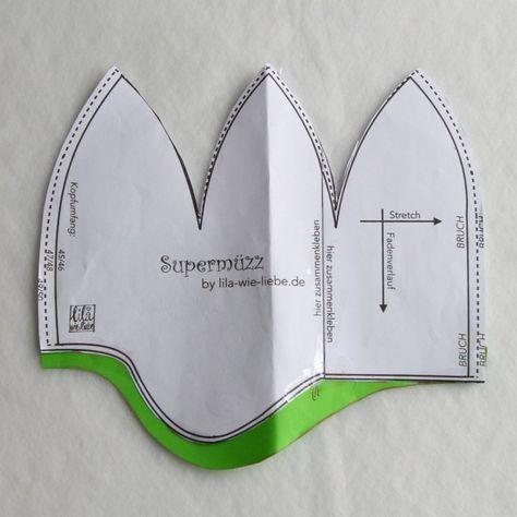 Supermüzz – Wintermütze für Kinder …MAXI Variante – Ina Gutsche