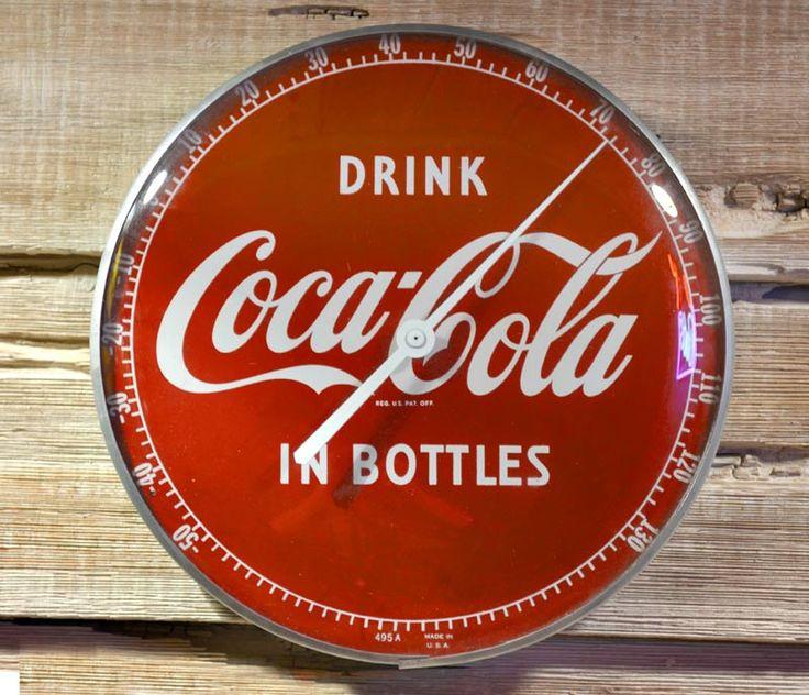 Coca Cola Thermometer - Genuine Americana - CCT789