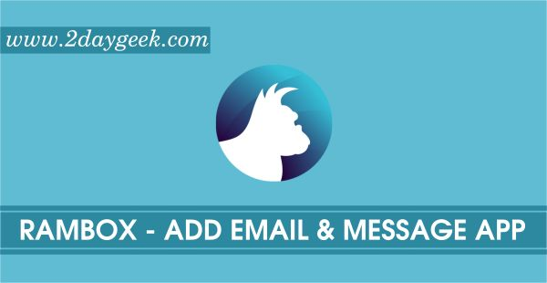 Rambox is a Free, Open Source and Cross Platform messaging and emailing app that combines common web applications into one place.