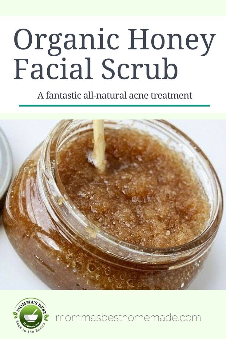 Our honey facial scrub is great for even the most sensitive skin! It gently exfoliates your skin and leaves it feeling extremely soft. It even helps to prevent and heal bacterial acne. [Beauty, homemade, natural, organic]