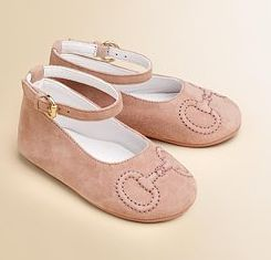 Gucci leather ballet flats = enormous price tag!