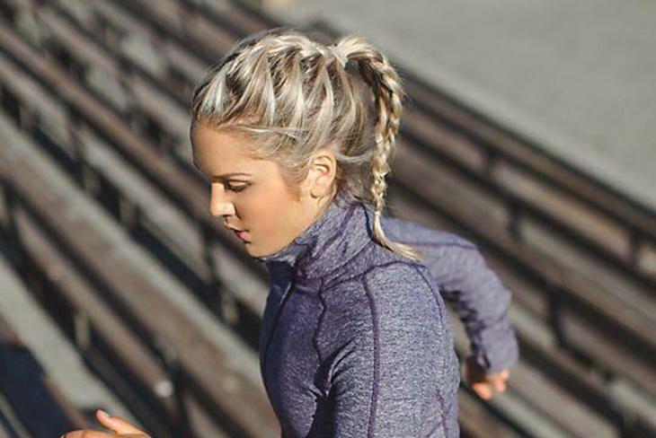 Cómo cuidar el pelo antes y después de ir al gimnasio · #Madrid #PurificaciónVaras #Peluquería #Madrid #BarrioDeSalamanca #SalónDeBelleza ➡ 91 401 02 44