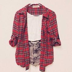 black check shirt outfit for winter for teen girls - Google Search