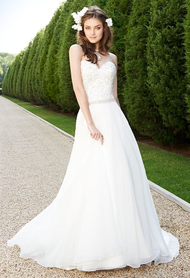 457 best Wedding Dresses images on Pinterest | Wedding frocks ...