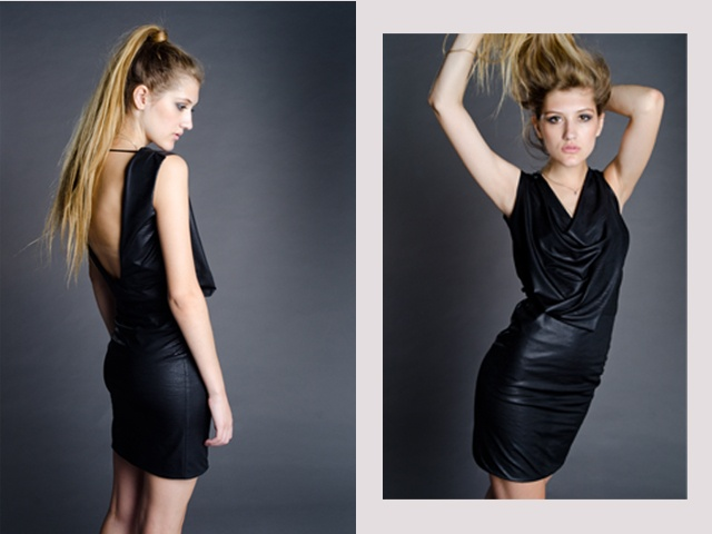 The Dellal Dress  Worn by Vicky  Photographed by Pierre de Villiers  http://marethcolleen.blogspot.com