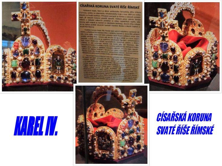 Kopie Císařské koruny Svaté říše Římské.