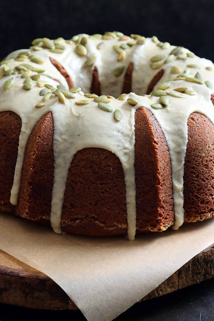 "To celebrate the ""Coming of the Great Pumpkin"" (Peanuts!): Pumpkin Bundt Cake With Maple Brown-Butter Glaze Recipe - NYT Cooking"