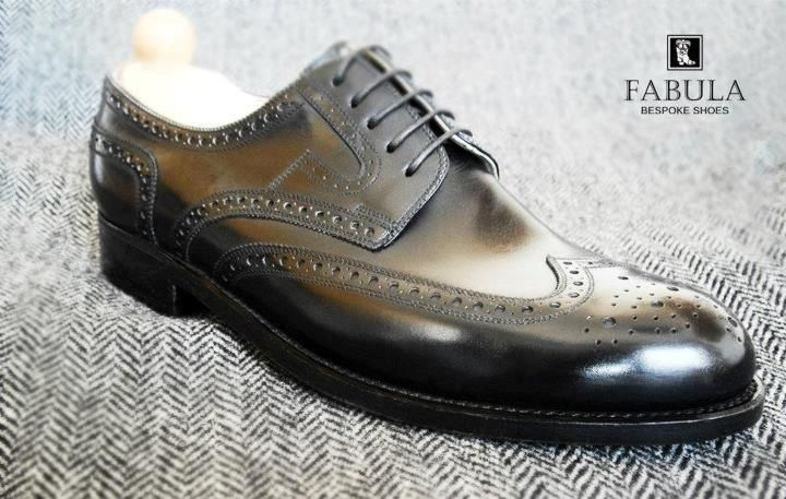 Exclusive leather man shoes. -Fabula Bespoke Shoes- Follow us on Facebook and Instagram!