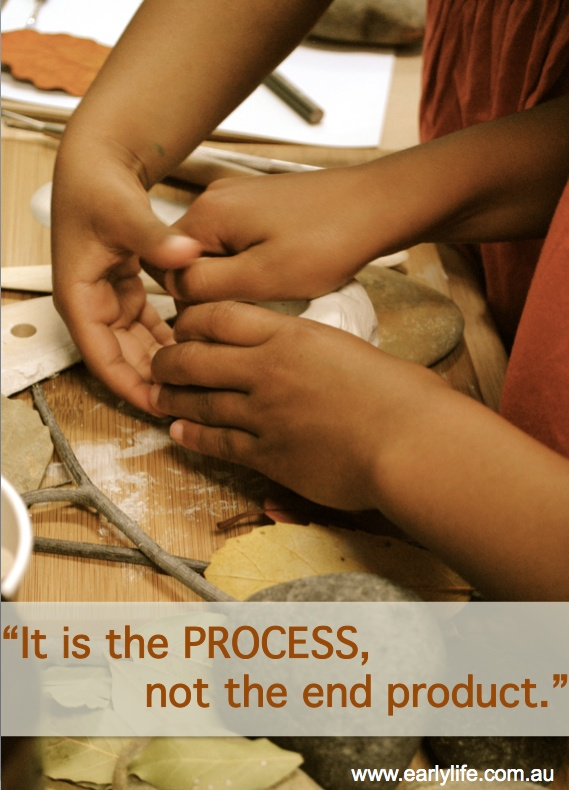"""""""It is the process, not the end product."""""""