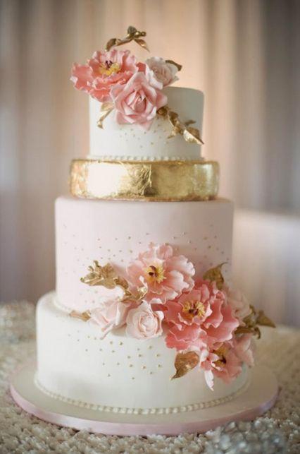 Idea di Torta nunziale elegante