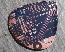 Guitar picks crafted from old circuit boards spark binary solo revolution