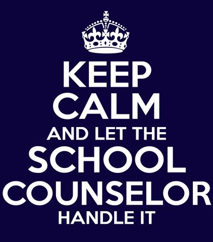 Keep Calm And Let The School Counselor Handle It T-Shirt – tshirtfeed.com: