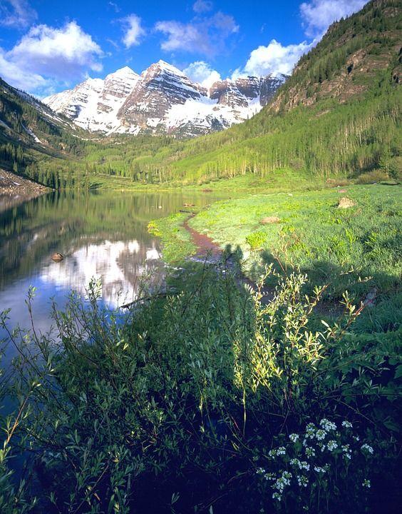 maroon bells aspen colorado mountains fall colors