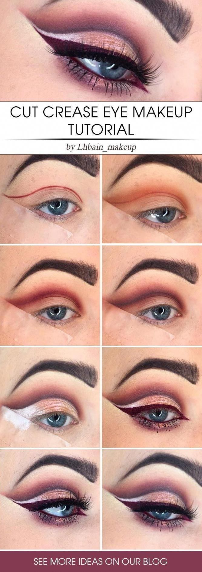 Nude eyemakeup steps — 7