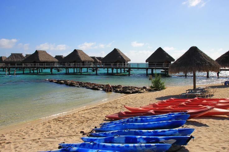 Hilton Resort, Moorea, Tahiti www.thegirlswhowander.com