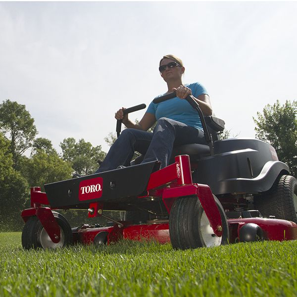 Get yard work done faster with Toro's TimeCutter zero turn riding mowers. Zero turns are easy to use and fun to drive. Cut your mowing time by up to 45%. Find yours at www.toro.com/retailer