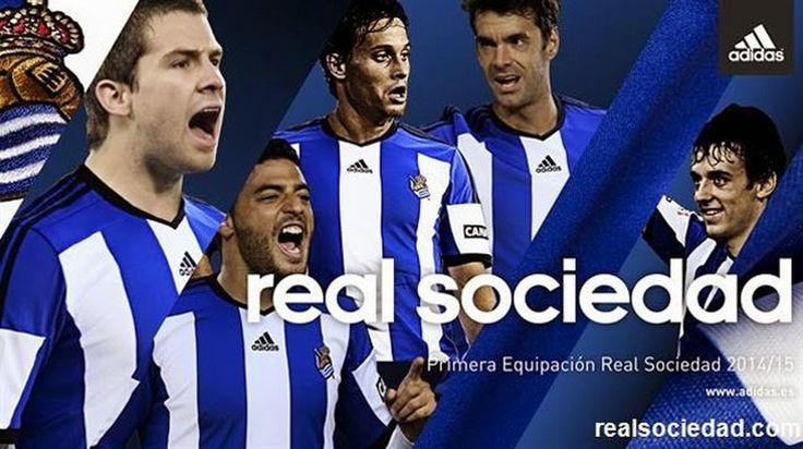 Camiseta Real Sociedad 2014 2015 Adidas