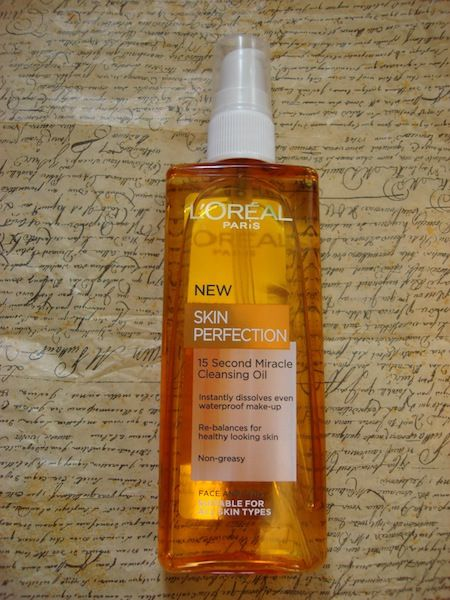 Loreal skin perfection cleanser