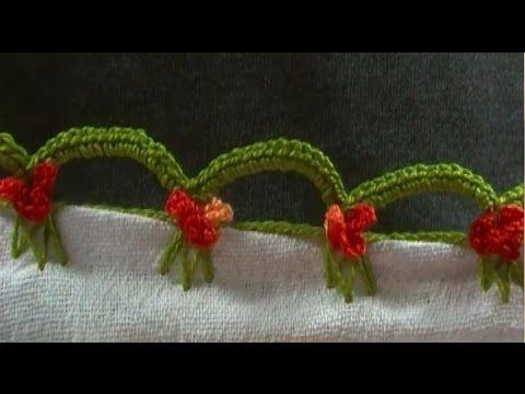 Bico em crochê mimoso - CROCHÊ 30 - YouTube