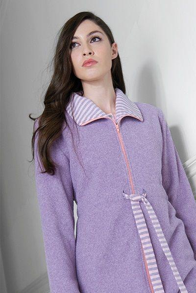 Batín corto mujer modelo Okay de la marca Egatex. http://www.perfumeriaelajuar.com/homewear/batines-mujer--invierno/32