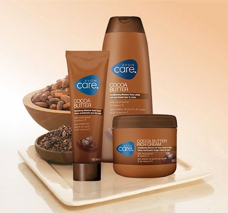 Tonia's BeautyWorld: Νέα σειρά Cocoa Butter της Avon