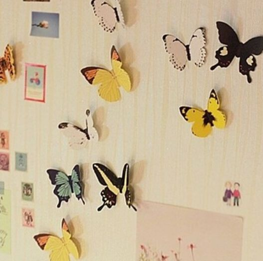 Wall butterflies, R60. Desk Accessories Product Categories | AmperSand