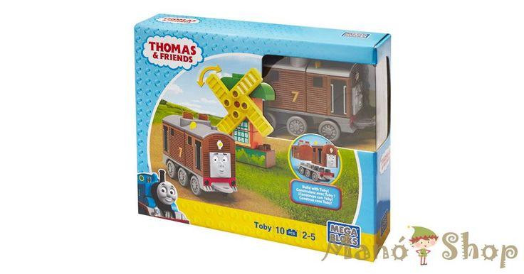 Mega Bloks Thomas karakter készletek - Toby (CNJ07)