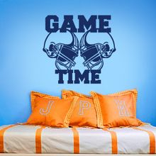 Get Football Wall Decal 2 and other sports wall decals from Decalmywall.com – the exclusive online store for high quality vinyl wall stickers.