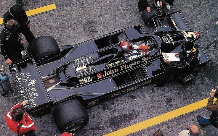 Mario Andreti, Lotus 79, 1978 Dutch Grand Prix, Zandvoort