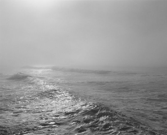 Robert Adams | The Place We Live | Yale University Art Gallery - From the South Jetty, Clatsop County, Oregon, 1991