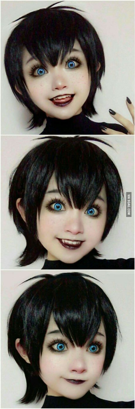 This is Coser Tiêu Nhu. She's a Vietnamese cosplayer. She is spot on as Mavis!