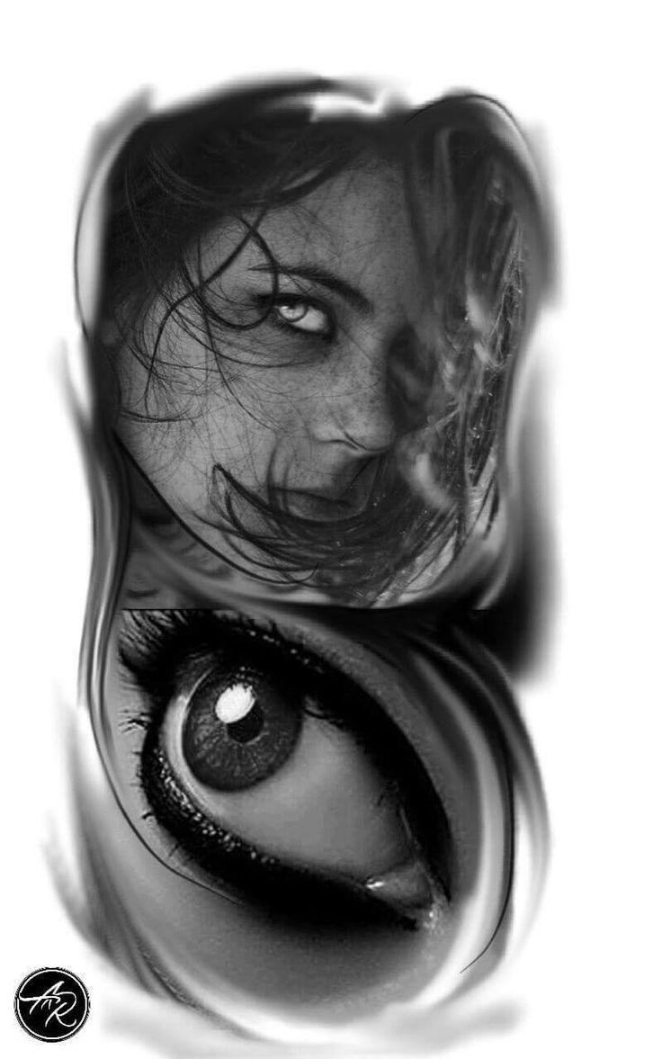 Tatuagem de olho tattoo eye tatuagem tattoo