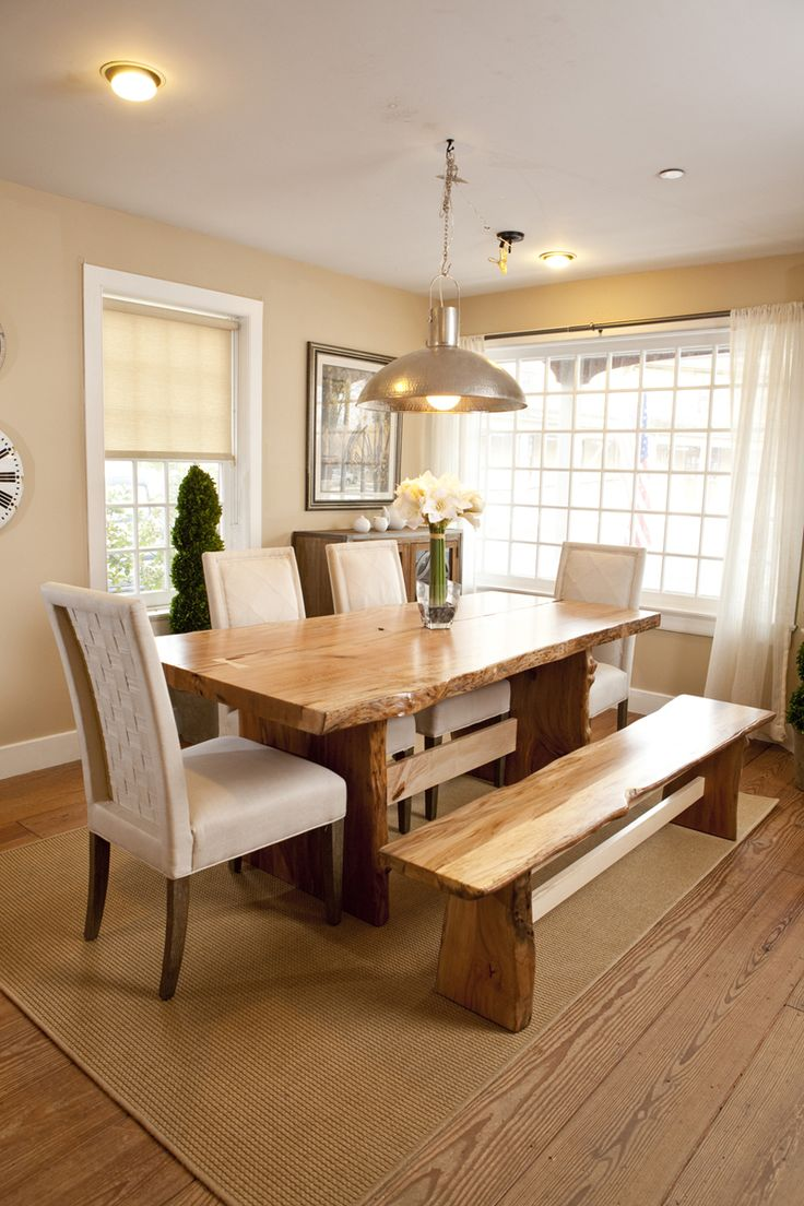 One-Of-A-Kind Natural Edge Dining Tables | Saybrook Country Barn