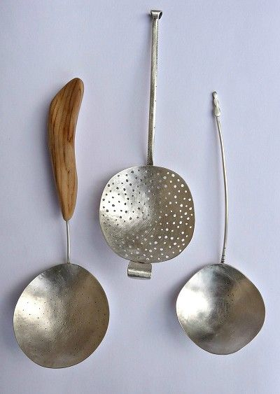 Silver Spoons by Helena Emmans via Thisispaper Magazine. Lustik: twitter | pinterest | etsy
