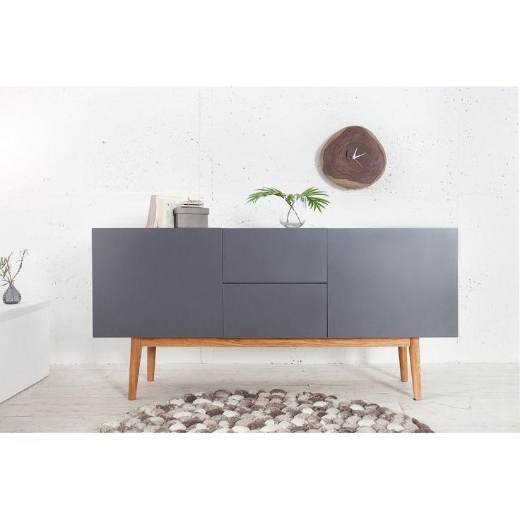 Komoda CATARINA 150cm antracit | Design4Life.cz
